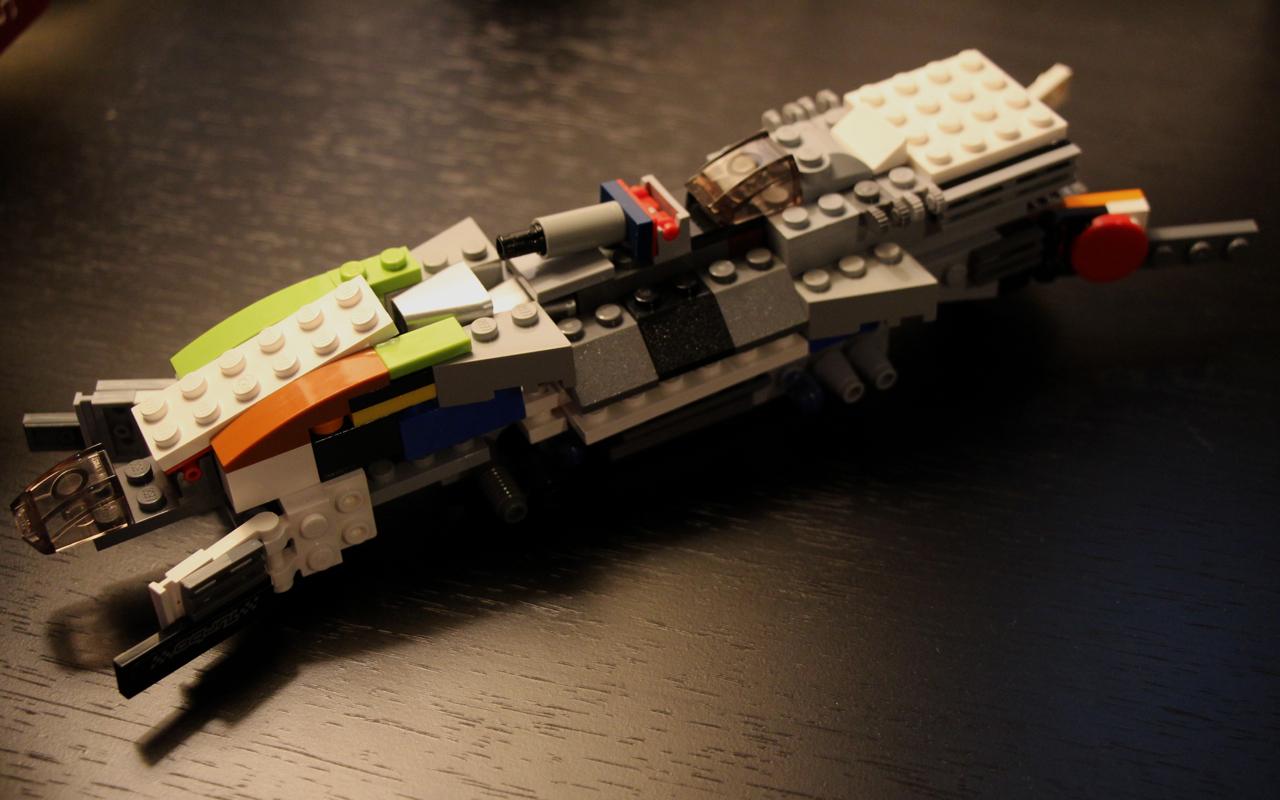 battle ship lego