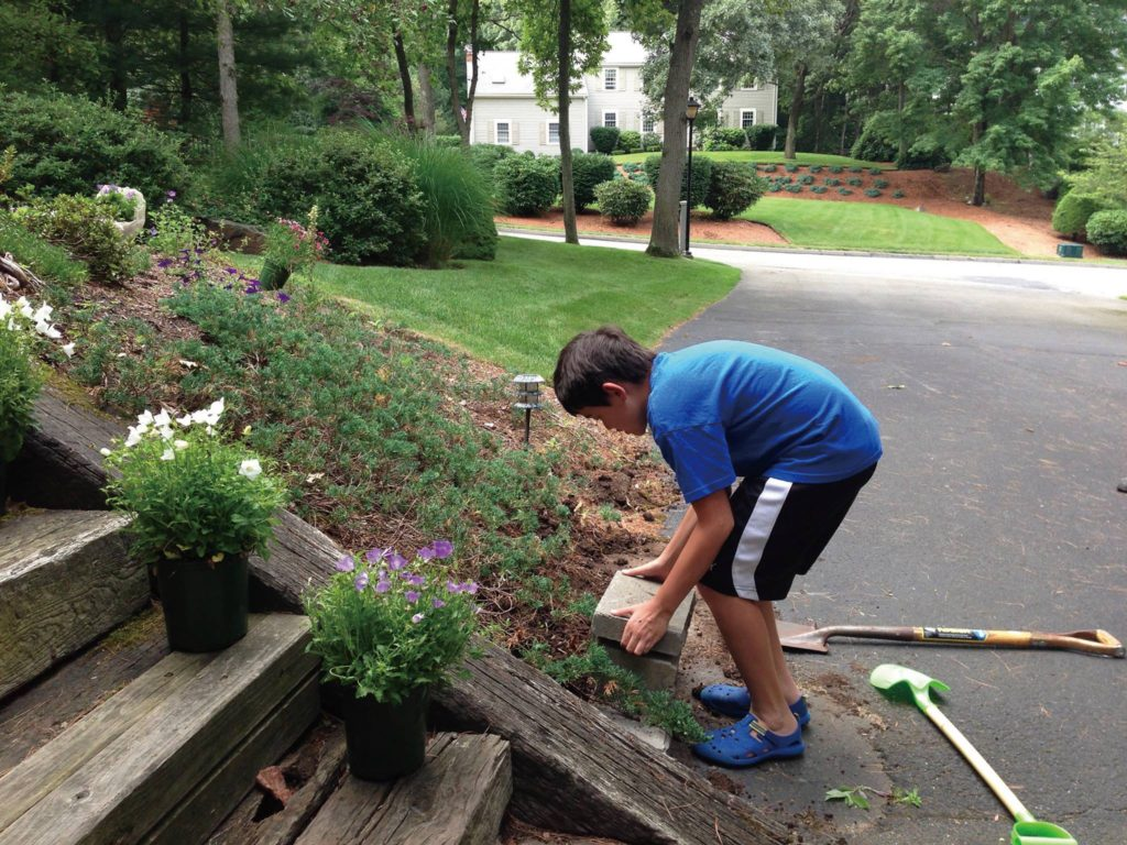 isaac-yard-work
