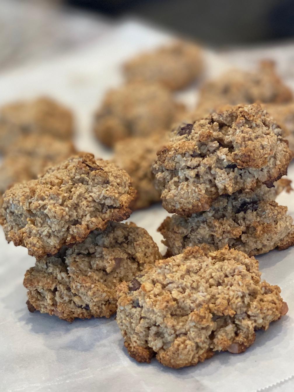 營養低熱量燕麥花生醬餅乾